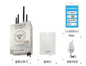 자동응답형 음향신호기 HUMC-3300T
